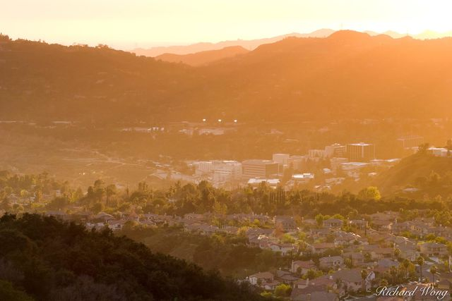 Jet Propulsion Laboratory (JPL) at Sunset, Pasadena, California, photo