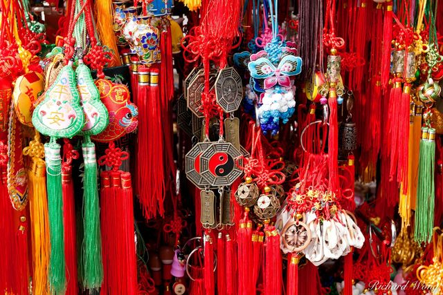 Chinese Wind Chimes for Sale in Chinatown, Vancouver, BC, photo