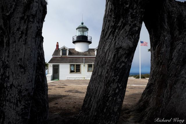 Point Pinos Lighthouse (Oldest Continuously Operating Lighthouse on the West Coast), Pacific Grove, California, photo