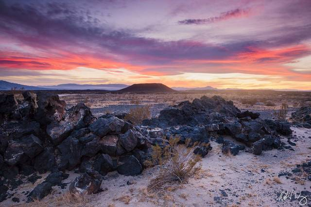 Amboy Crater, Mojave Trails National Monument, California
