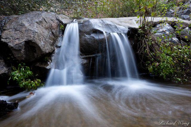 Small Waterfall at Big Dalton Canyon Wilderness Park, California, photo