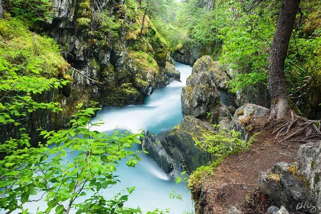 Winner Creek Gorge print