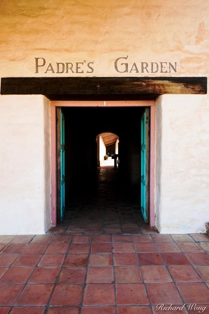 Padre's Garden, Mission San Antonio de Padua, Monterey County, California, photo
