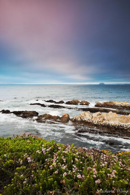 Bluff Trail Seascape, Montana de Oro State Park, California, photo