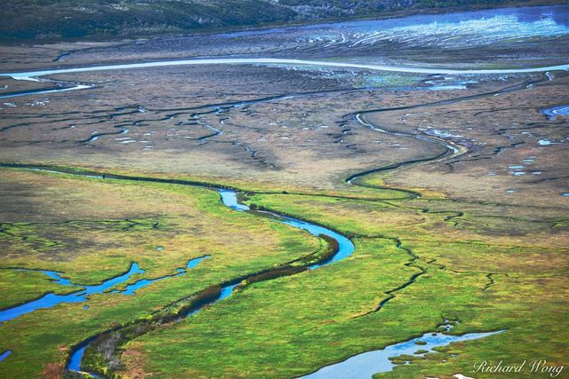 Los Osos Creek Running Through Los Osos Watershed, Morro Bay, California, photo