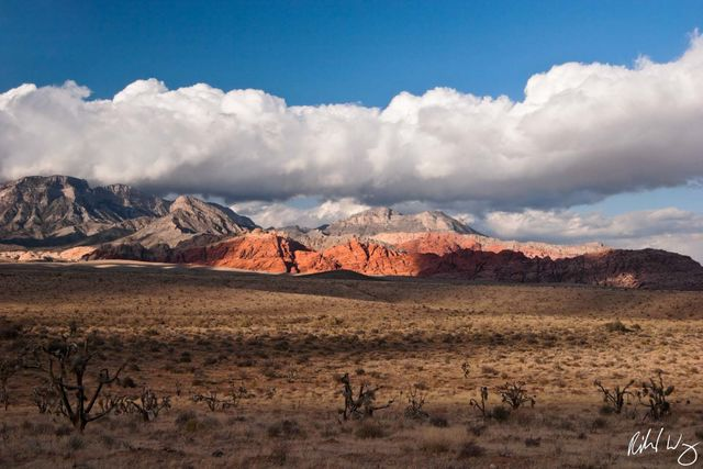 Red Rock Canyon Scenic Landscape, Nevada, Photo