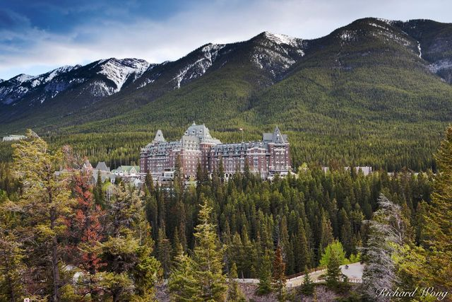 Fairmont Banff Hot Springs Resort, Banff, Alberta, Canada, Photo