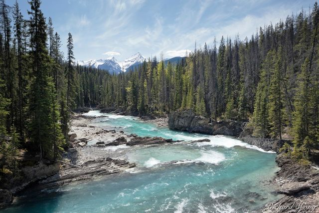 Kicking Horse River, Yoho National Park, British Columbia, Canada, Photo