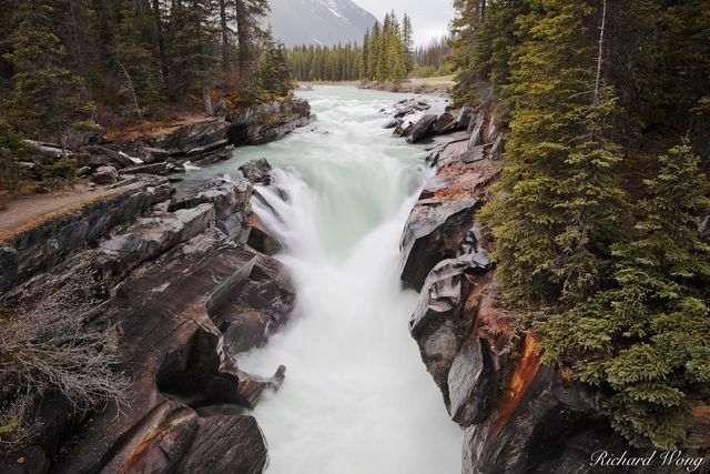 Numa Falls and Vermillion River, Kootenay National Park, British Columbia, Canada, Photo