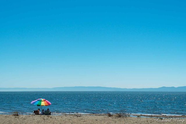 Robert Crown Memorial State Beach on a Clear Sunny Day, Alameda, California, photo