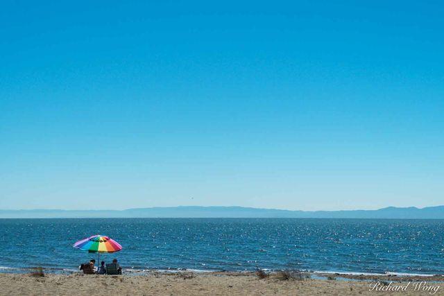 Sunny Day on the Beach print