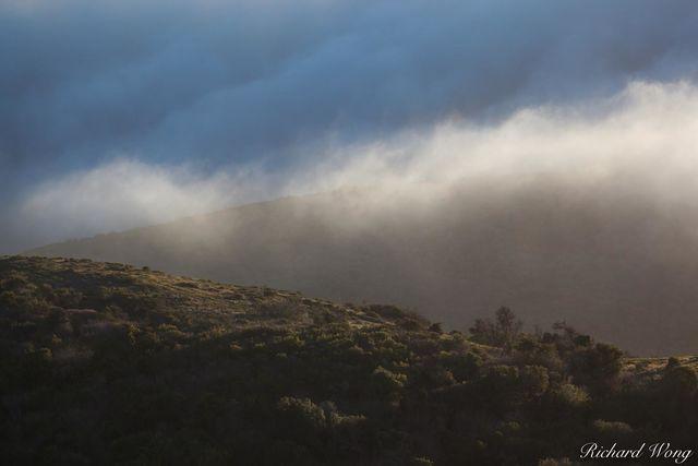Sunset Clouds on Sweeney Ridge, San Mateo County, California