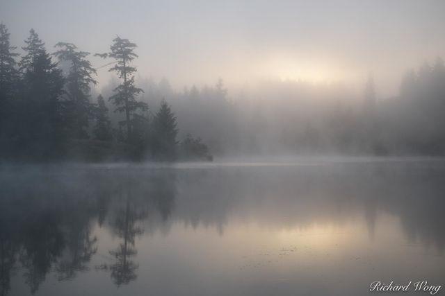 Dream Lake, San Juan Island, Washington, photo