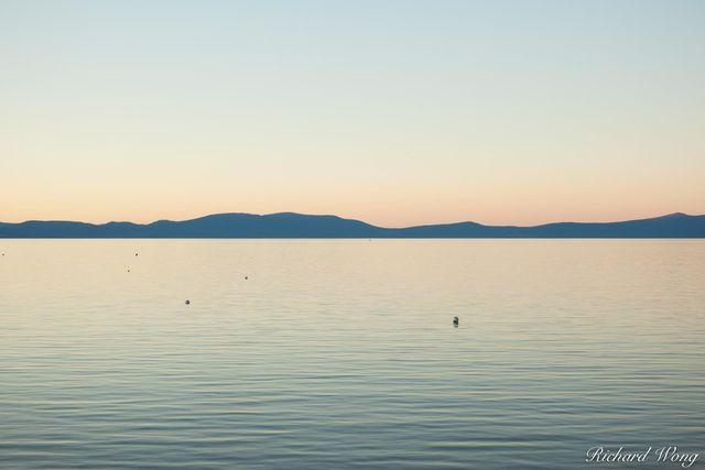 South Lake Tahoe at Sunset, California, photo