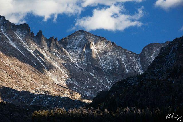Pagoda Mountain, Rocky Mountain National Park, Colorado, Photo
