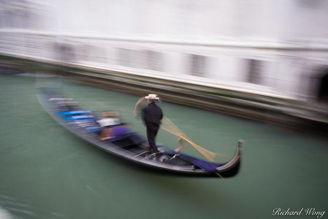 Gondola Ride, Venice, Italy, photo