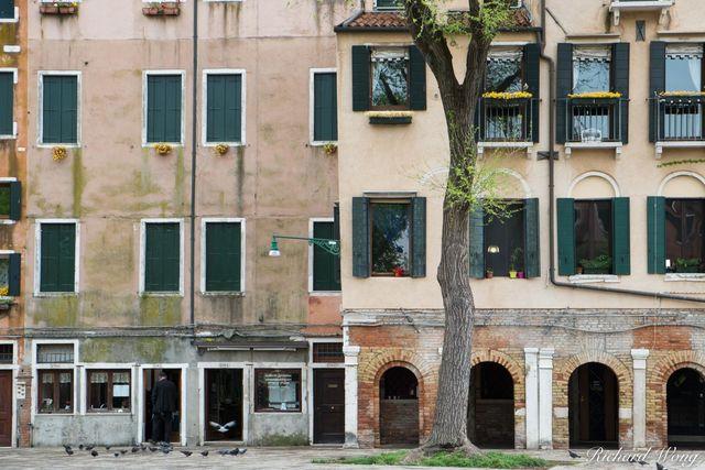 Venetian Jewish Ghetto (Ghetto Vecchio), Venice, Italy, photo