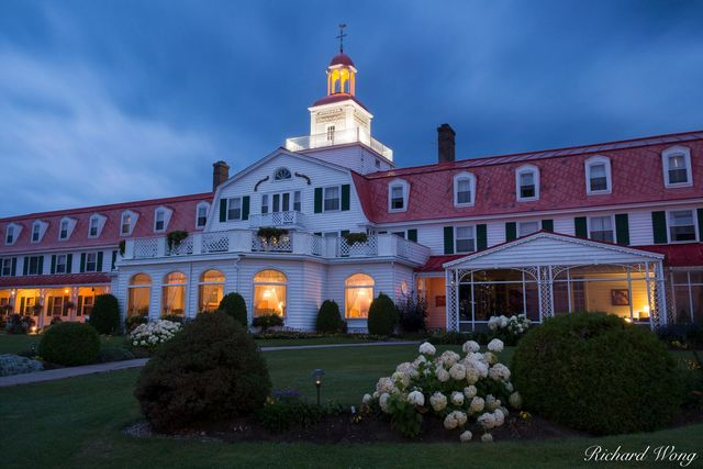 Hotel Tadoussac, Quebec, Canada, photo