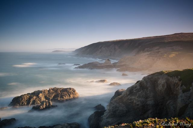 Bodega Head Long Exposure at Sunrise, Sonoma Coast, California, photo