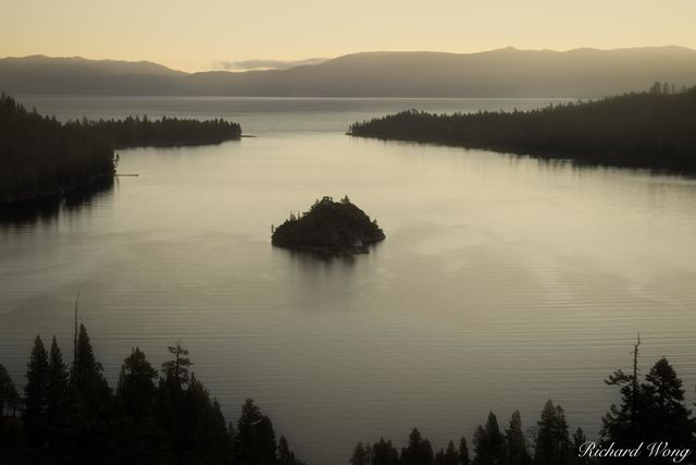 Emerald Bay State Park Sunrise, Lake Tahoe, California, photo