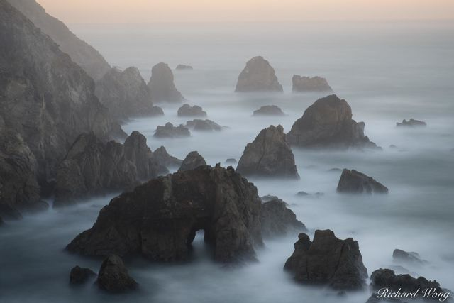 Bodega Head Sunrise Long Exposure, Sonoma Coast, California, photo