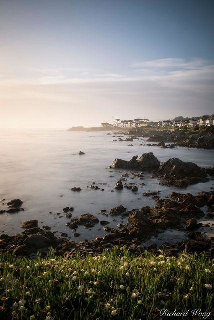 pacific grove, sunrise, california, photo