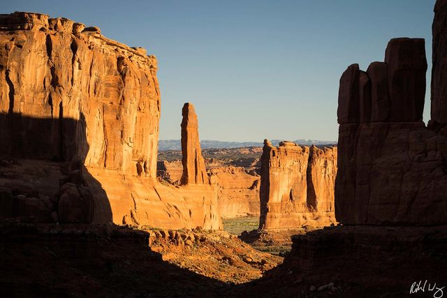 Park Avenue, Arches National Park Photo