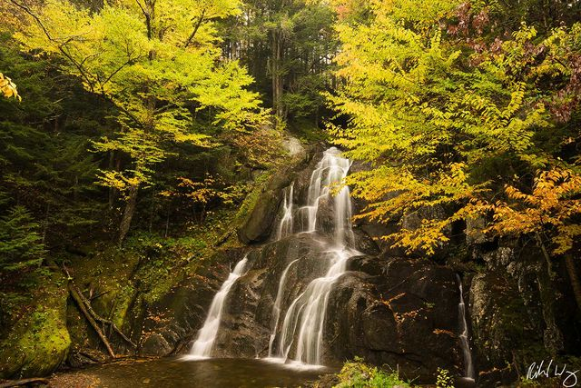 Moss Glen Falls, Green Mountain National Forest, Granville, Vermont, Photo