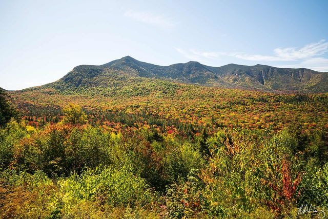 Kancagamus Highway Fall Color, White Mountain National Forest, New Hampshire, Photo