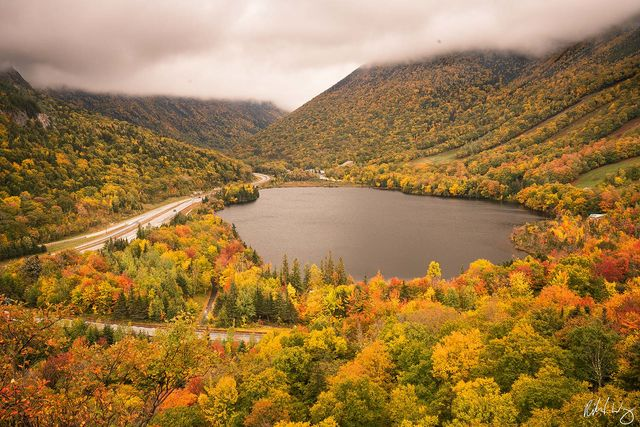 Artists Bluff, Franconia Notch State Park, New Hampshire, Photo
