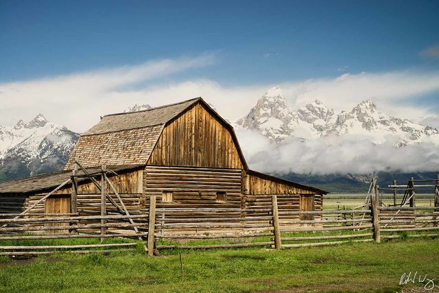 John Moulton Barn / Mormon Row, Grand Teton National Park, Wyoming, photo