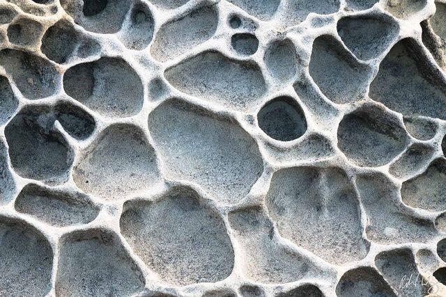 Tafoni Patterns, Salt Point State Park, California, photo