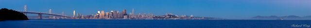 Panoramic of San Francisco, California, photo