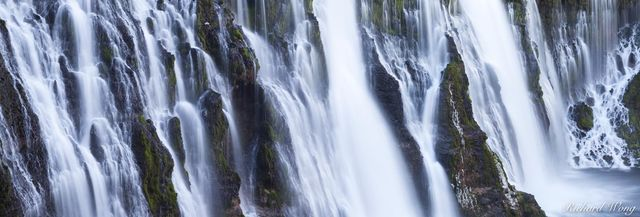 Burney Falls Panoramic, MacArthur-Burney Falls Memorial State Park, California, photo