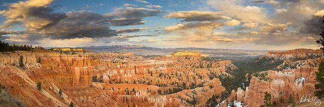 Sunset Point Panoramic, Bryce Canyon National Park, Utah, Photo