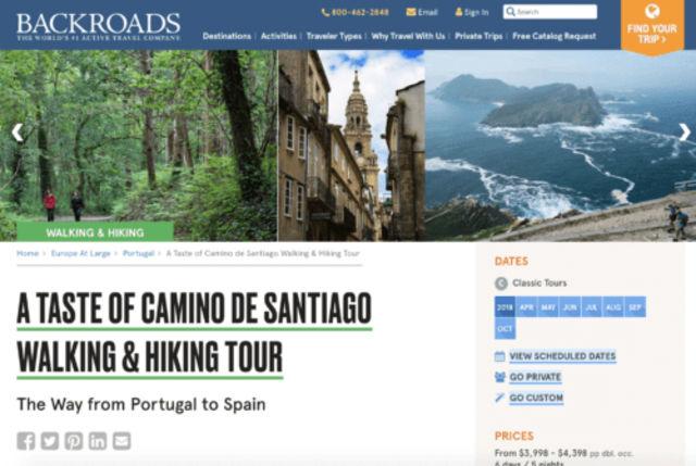 Backroads - Camino de Santiago