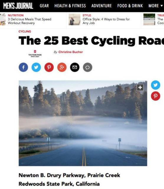 Men's Journal - Best Cycling Roads