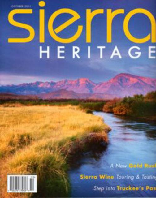 Sierra Heritage Magazine Cover