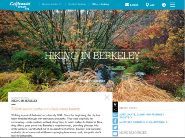 Visit California - UC Berkeley Botanical Garden