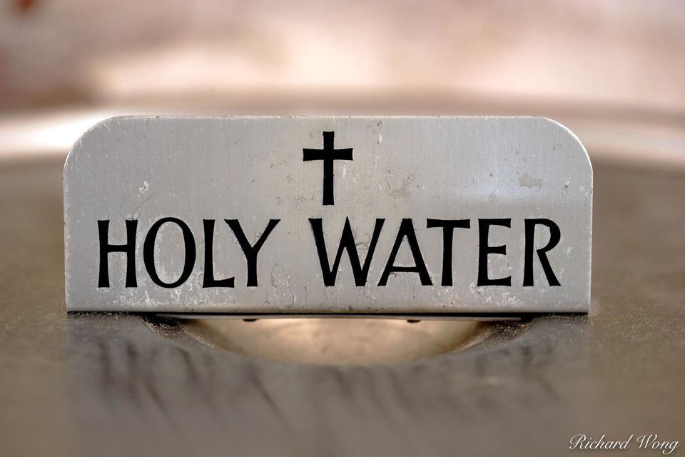 Holy Water print