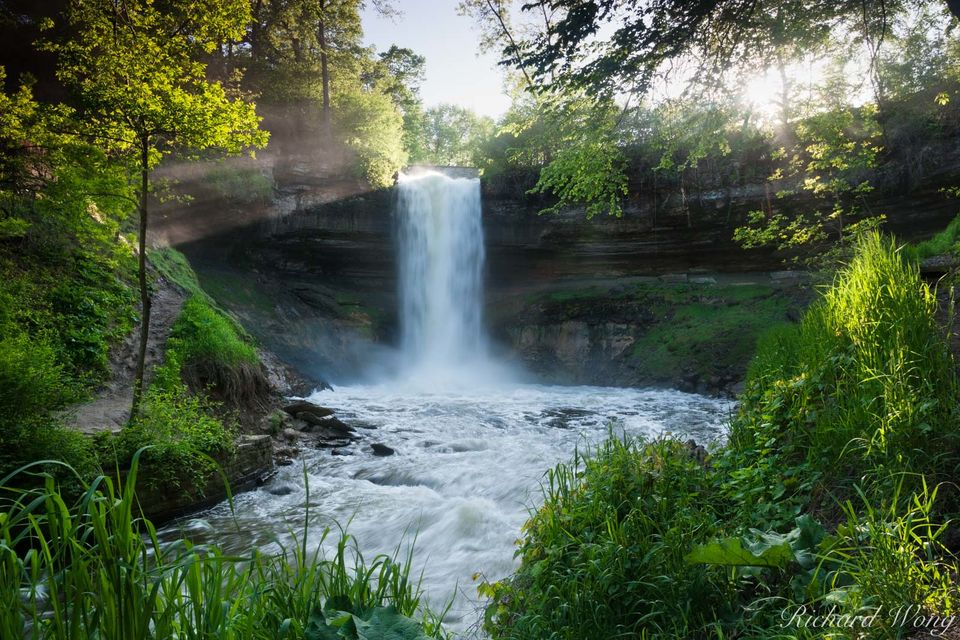 Minnehaha Falls print