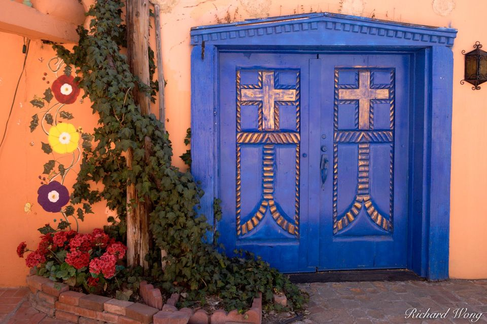 Blue Door & Ivy print