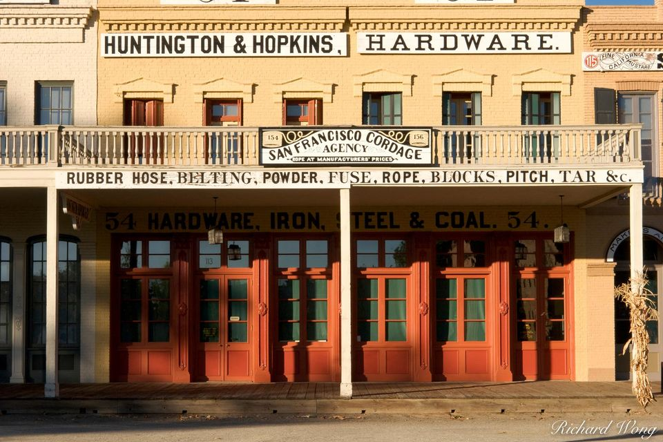 Huntington & Hopkins print