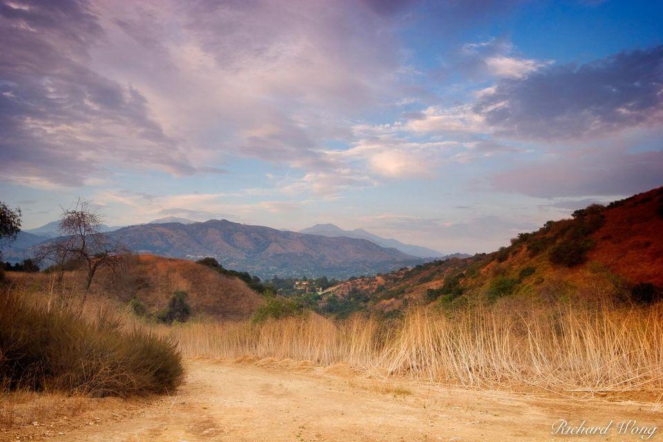 Alosta Canyon Trail print