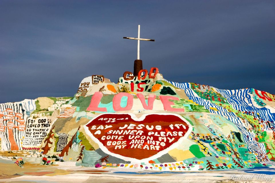 Salvation Mountain print
