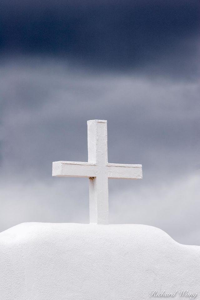Christian Cross print