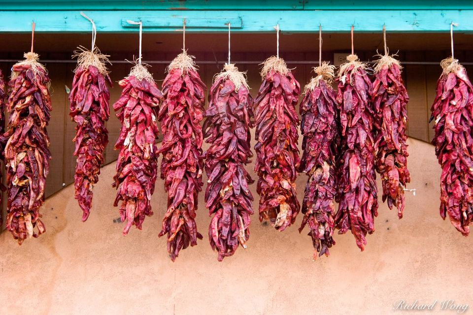Chiles Hanging Out To Dry print