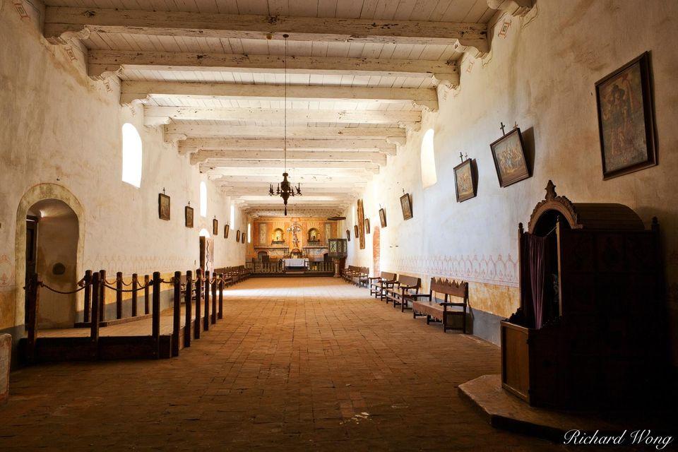 Mission La Purisima Chapel print