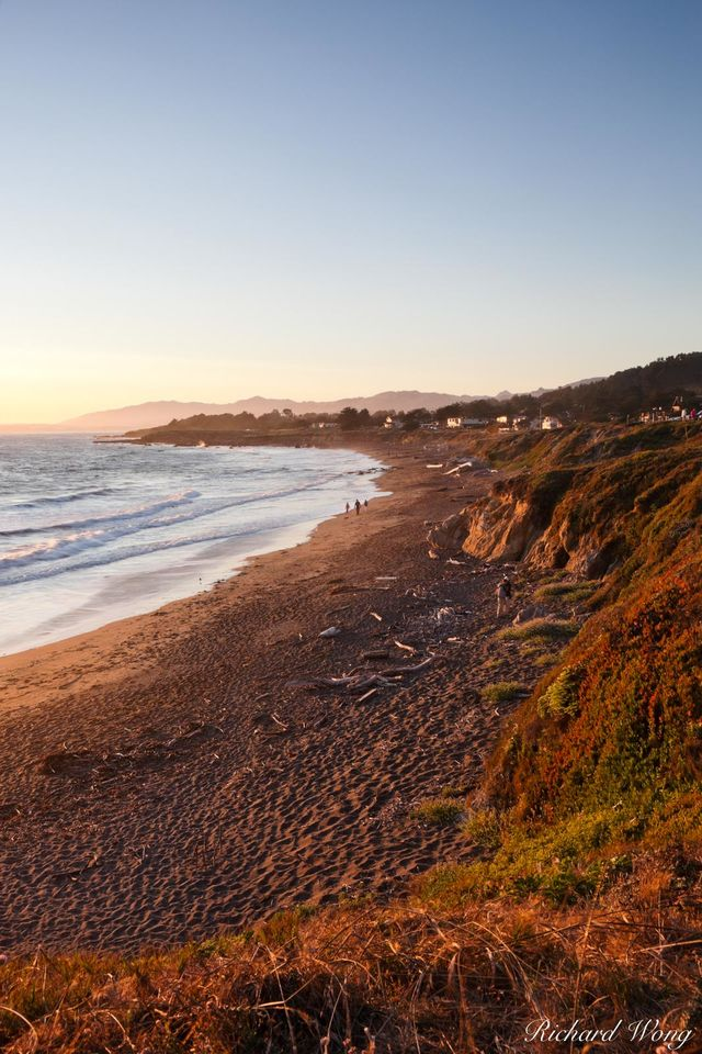 Moonstone Beach print