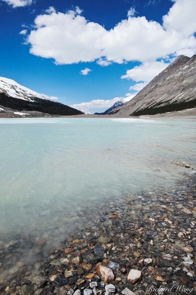 Sunwapta Lake Photo print